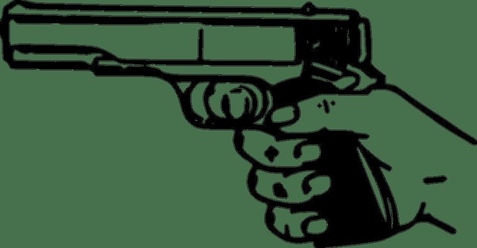 Gun Pistol Weapon · Free vector graphic on Pixabay
