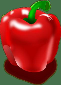 Pepper, Red Pepper, Eat, Hot, Red