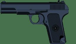 Pistol, Gun, Army, Semi-Automatic