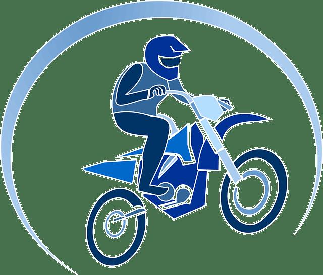 Action Motocross Bike  Free vector graphic on Pixabay