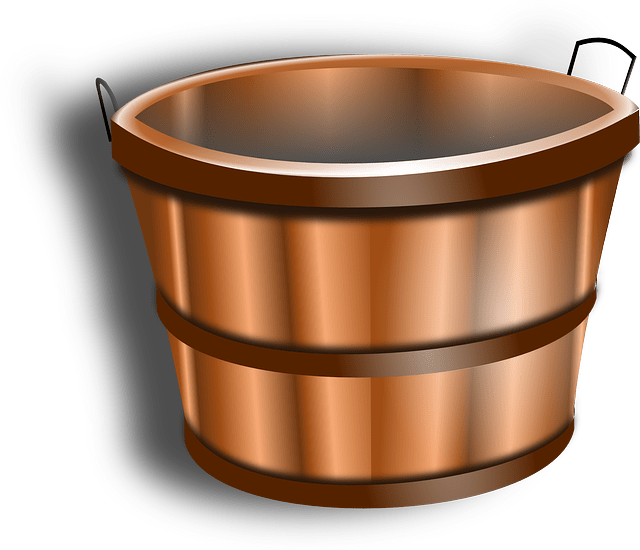 Bucket Water Tub  Free vector graphic on Pixabay