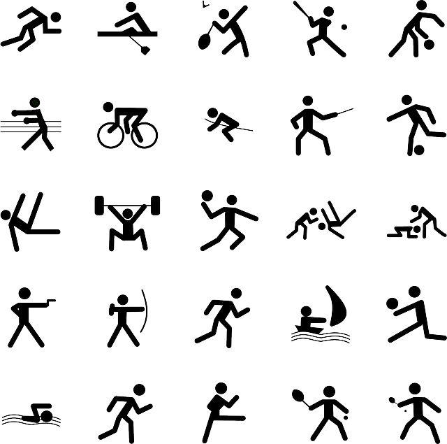 Pictogrammes Sports Symboles · Images vectorielles
