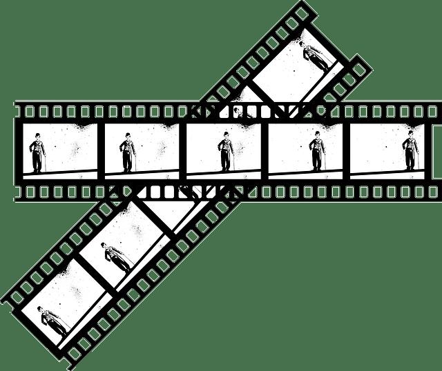 Free vector graphic: Charlie, Chaplin, Film, Movie, Tape