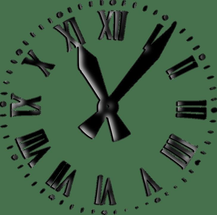 Uhr Zeit Analoge Analog  Kostenlose Vektorgrafik auf Pixabay