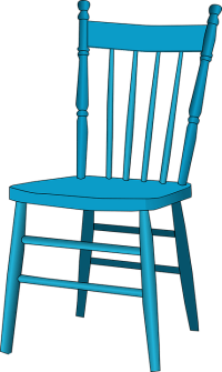 Free vector graphic: Chair, Blue, Antique, Furniture ...