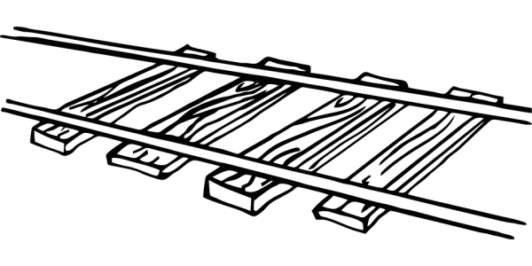 Railroad Track Free vector graphic on Pixabay