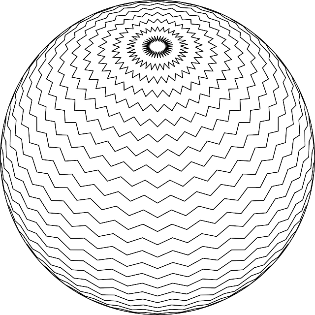 Spiral Sphere Line Art · Free vector graphic on Pixabay
