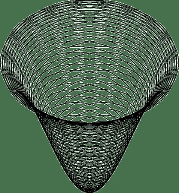 Free vector graphic: Spiral, Cone, Line Art, Mathematics