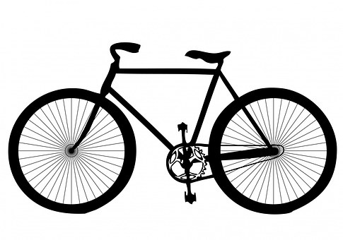 Black, Shape, Transport, Bicycle, Bike