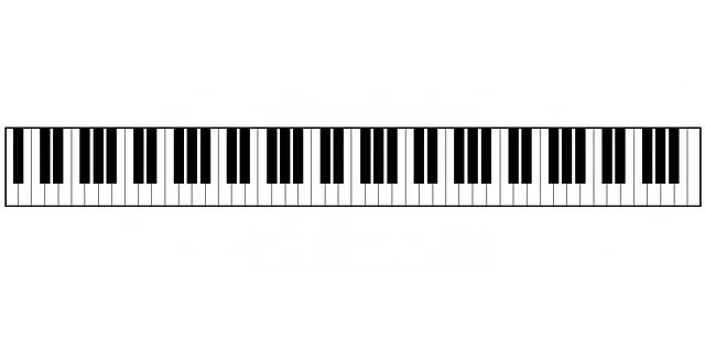 88 key piano keyboard diagram vfd starter wiring · free image on pixabay