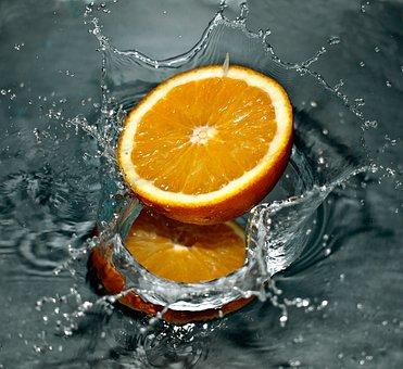 Orange, Cae, El Agua, Bienvenida, Fresco