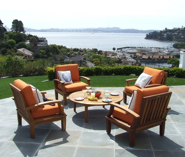 Teak Teak Patio Furniture Teak Furniture Patio Set  C B Public Domain