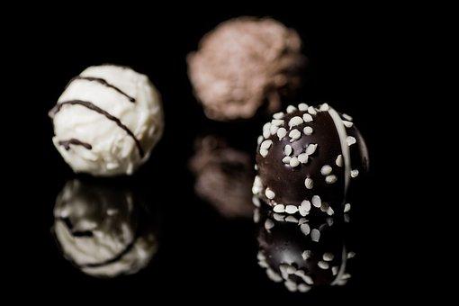 プラリネ, チョコレート, ショコラティエ, コンフィズリー, デザート