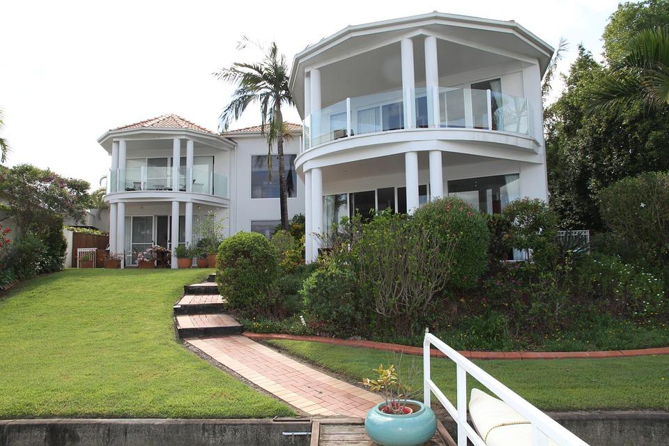 House, Condo, Live, Living Room, Architecture, Balcony
