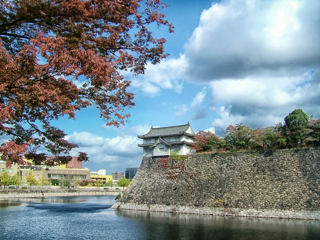 3d Animation Wallpaper Download Free Photo Osaka Castle Japan Landmark Free Image On
