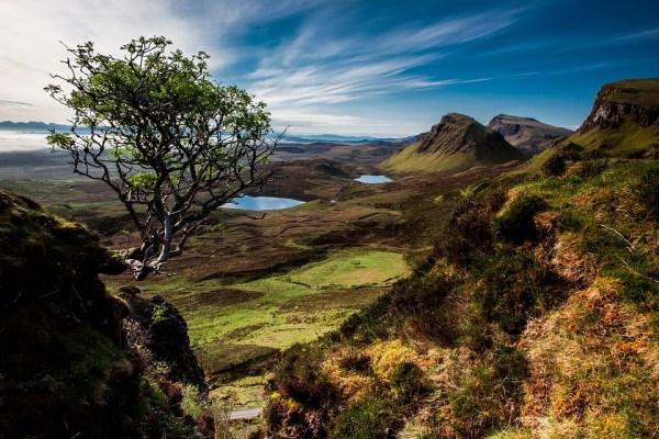 landscape quairaing scotland isle