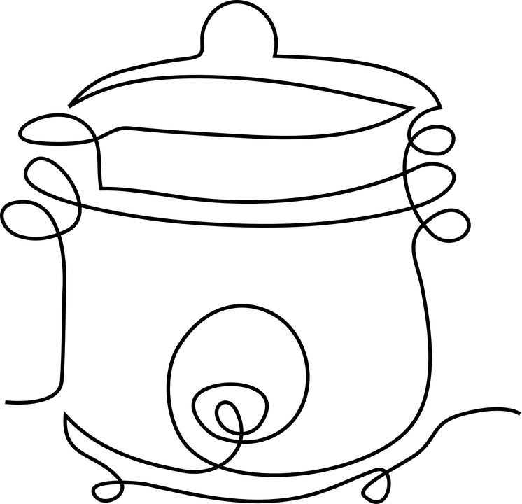 Pressure Cooker Food · Free vector graphic on Pixabay