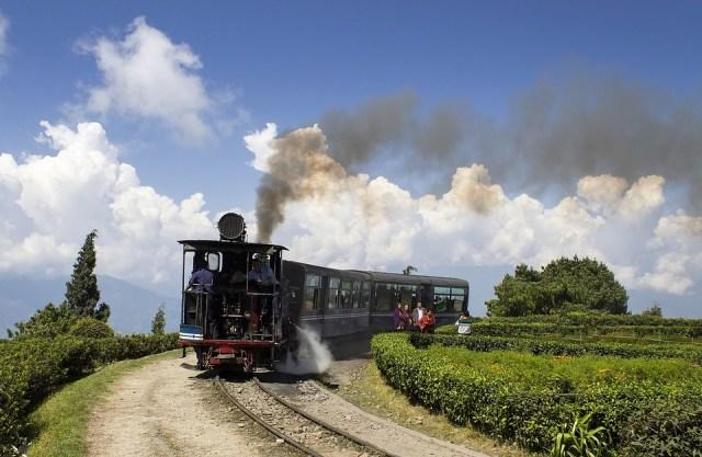 Darjeeling, Himalayan, Railway, Toy, Train, Steam