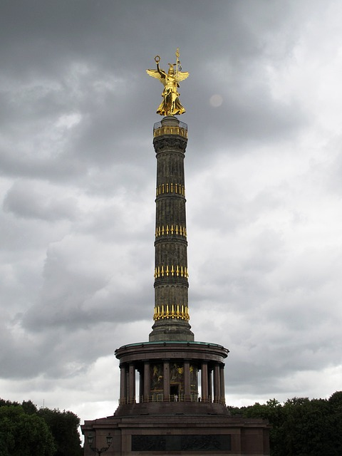 Free photo Siegessule Berlin Landmark Sky  Free