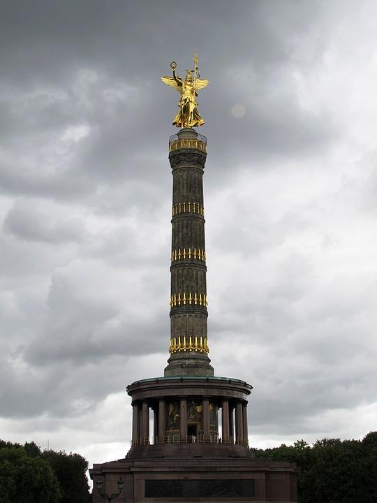 Free photo Siegessule Berlin Landmark Sky  Free