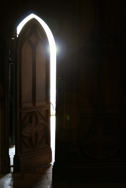 Free photo Church Door Reflection Light  Free Image on