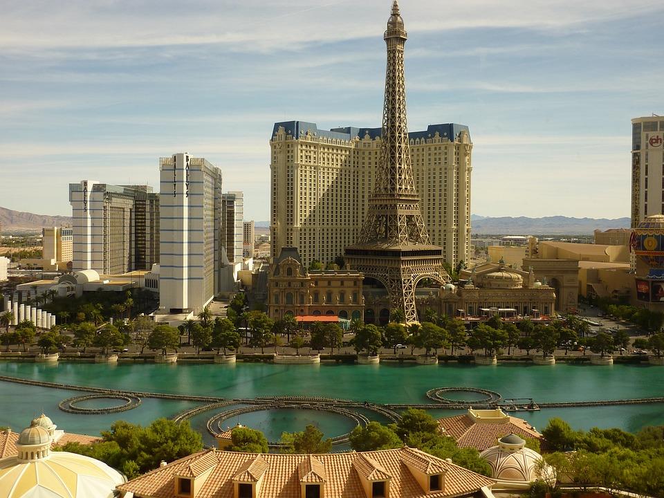 Las Vegas, Bellagio, Fuente, Instalaciones