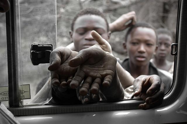 Free photo Starving Children Waiting  Free Image on