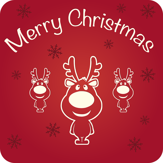 Merry Christmas Happy Holidays Free Vector Graphic On