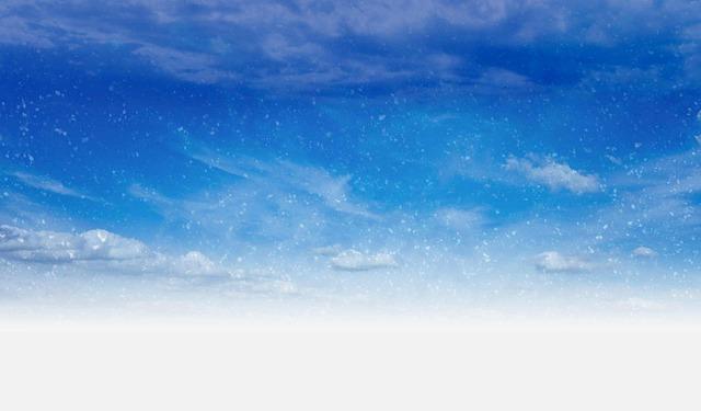 free photo snow flurries sky day blue free image on pixabay