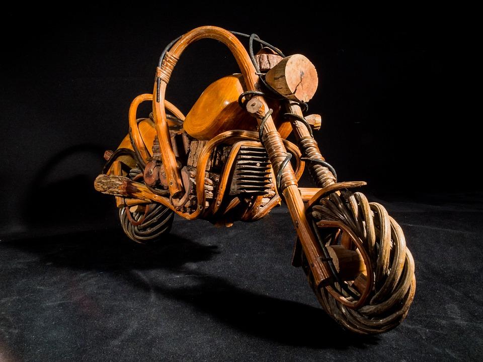 Black White Wallpaper Girl Wooden Motorcycle Wood Model Art 183 Free Photo On Pixabay