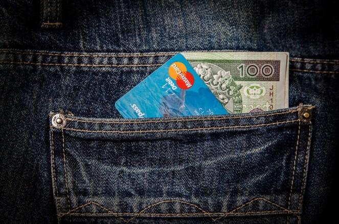 Dinheiro, Cartão, Negócios, Bolso, Visto, Mastercard