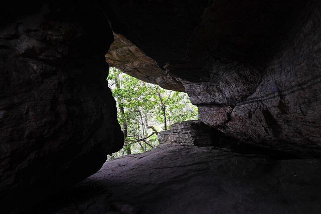 Desert Landscape Wallpaper Hd Free Photo Cave Rock Entrance Opening Free Image On