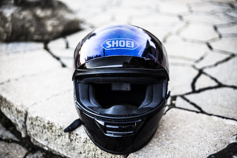 Motorbike, Helmet, Motorcycle, Helm, Shoei