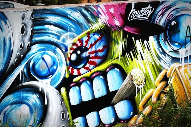 Free photo Graffiti Street Art Wall Mural  Free Image