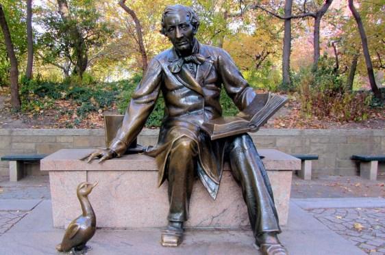 Hans Christian Andersen, Sculpture, Central Park
