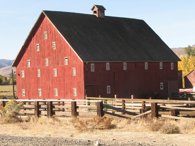 Fall Pictures For Facebook Wallpaper Free Photo Red Barn Dayville Oregon Eastern Free