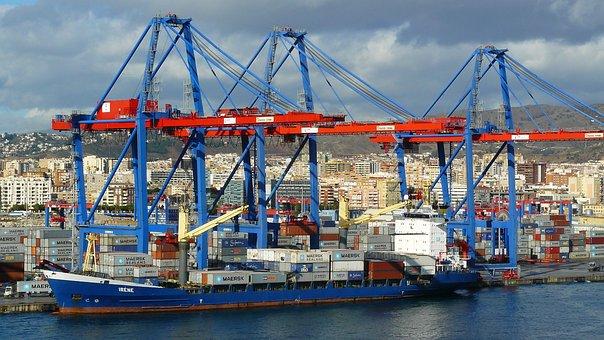 Container Port, Port, Coast