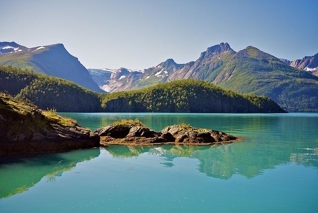 Kostenloses Foto Fjord Norwegen Meer Wasser