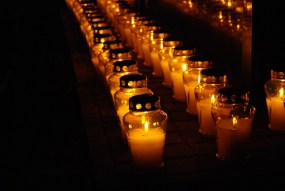 Halloween traditions across the globe Cemetery, Candle, Candles, Light, The Dead