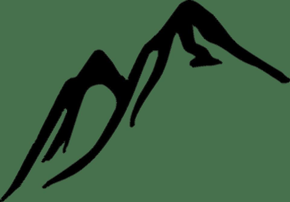 Immagine vettoriale gratis Montagne Colline Picchi  Immagine gratis su Pixabay  294111