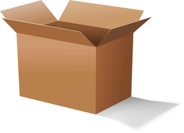 box cardboard carton free vector