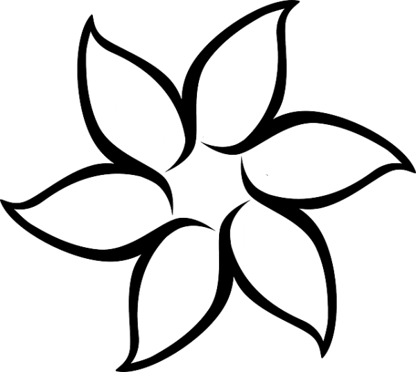 floral flower white free vector
