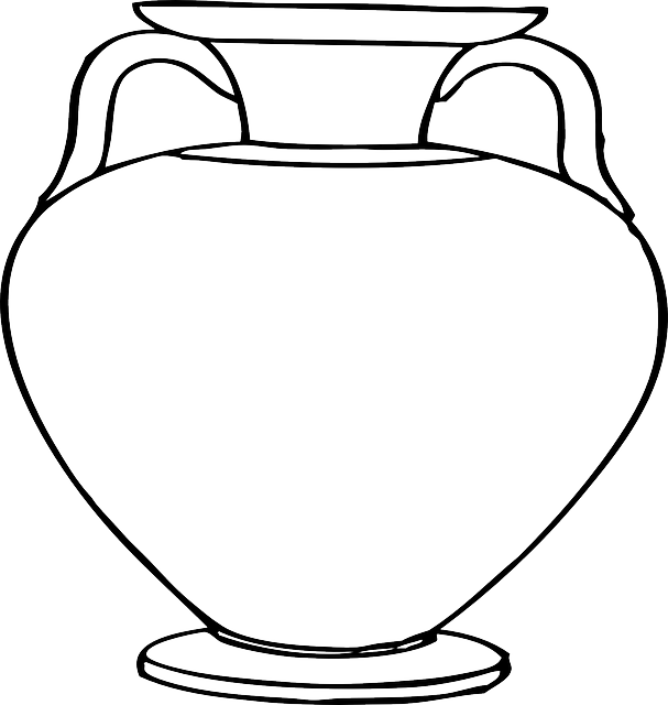 Vase Pottery Flower Pot · Free vector graphic on Pixabay