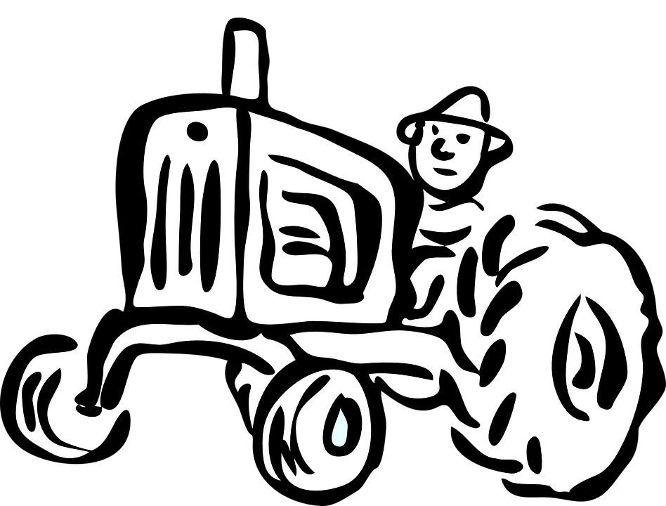 Free vector graphic: Tractor, Agriculture, Engine, Car
