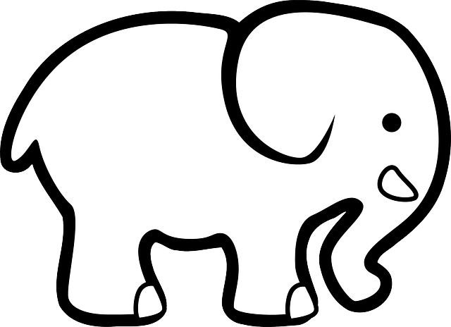 Elephant Animal Silhouette · Free vector graphic on Pixabay