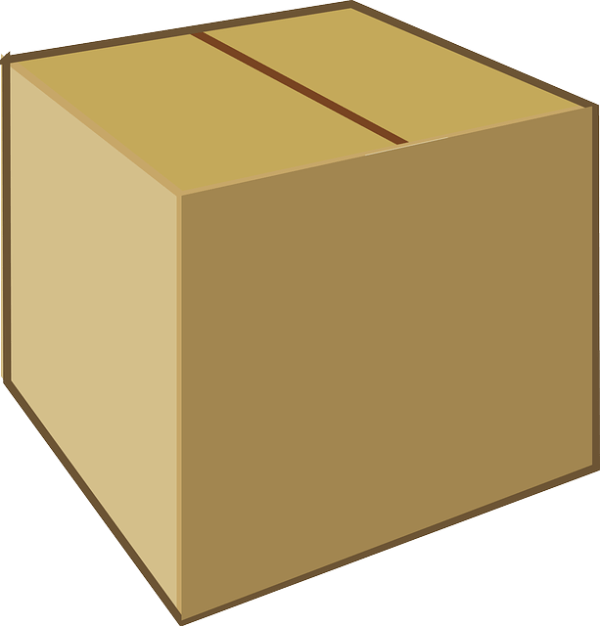 cardboard box brown free vector