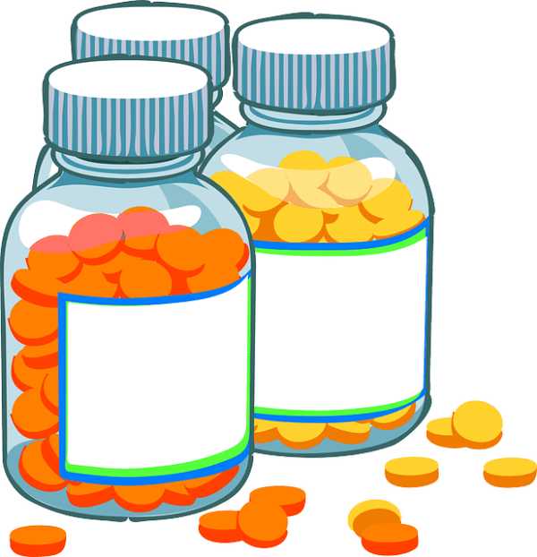 medicine pills bottles free vector