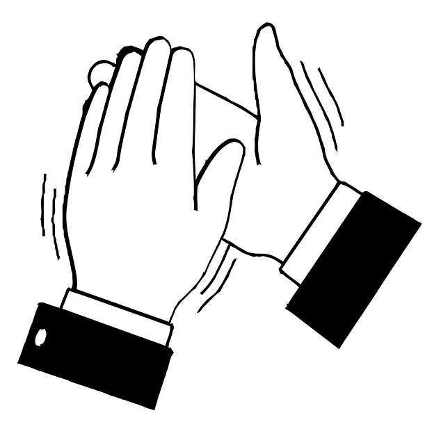 Free vector graphic: Applause, Clapping, Hands, Black