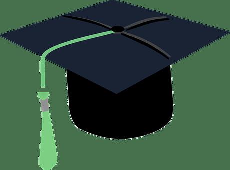 Hut Diplom Graduierung Absolvent Zeremonie