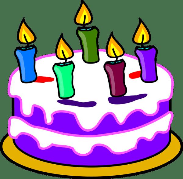 birthday cake candles happy free